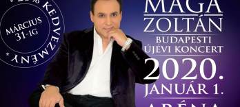 Zoltán MAGIC - XII. Budapest New Year Concert