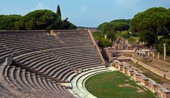 Roman Theater of Ostia Antica